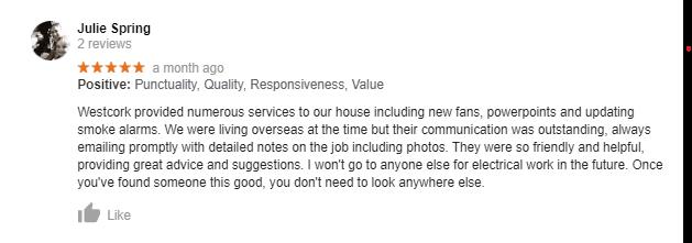 Smoke alarm install review