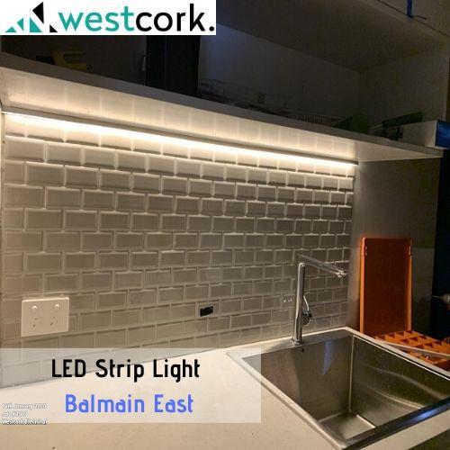 LED Strip Light Install Balmain East