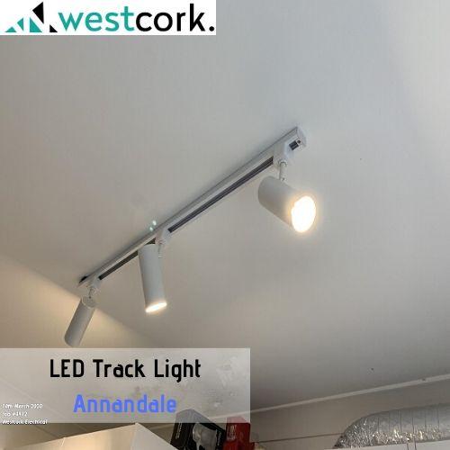 LED Track Light Install Annandale