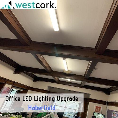 Office LED Lighting Upgrade Haberfield