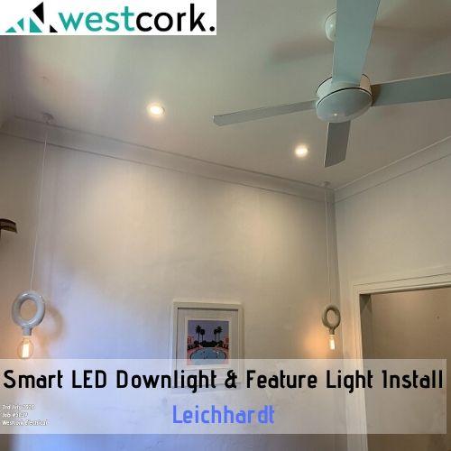 Smart LED Downlight & Feature Light Install Leichhardt