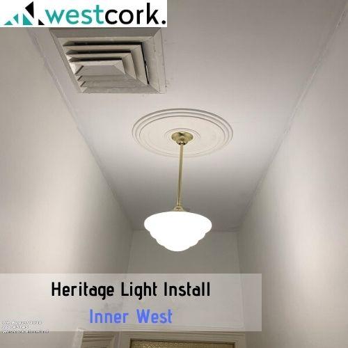 Heritage Light Install Inner West