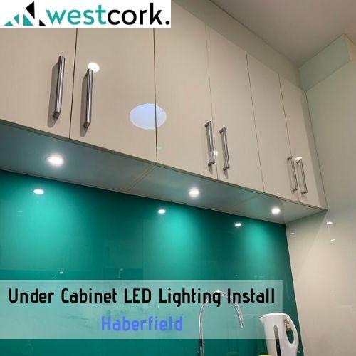 Under Cabinet LED Lighting Install