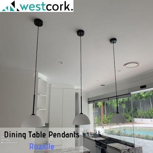 Dining Table Pendants Rozelle