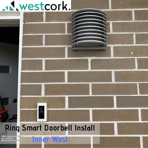Ring Smart Doorbell Installation Inner West