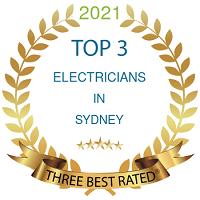 Top Three Electricians Sydney 2021