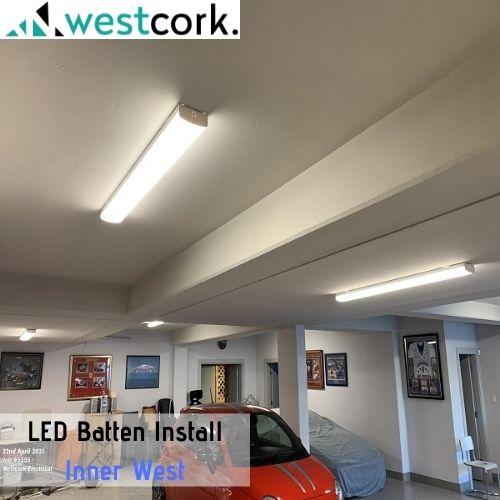 LED Batten Install Inner West